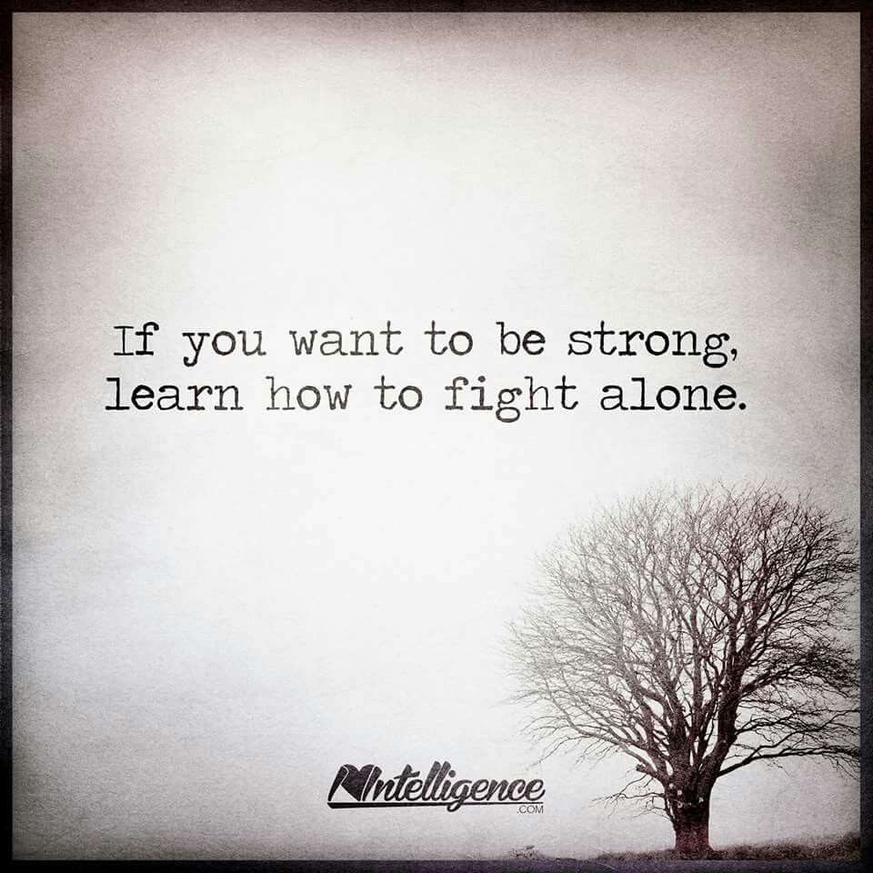 Alone Strong Quotes