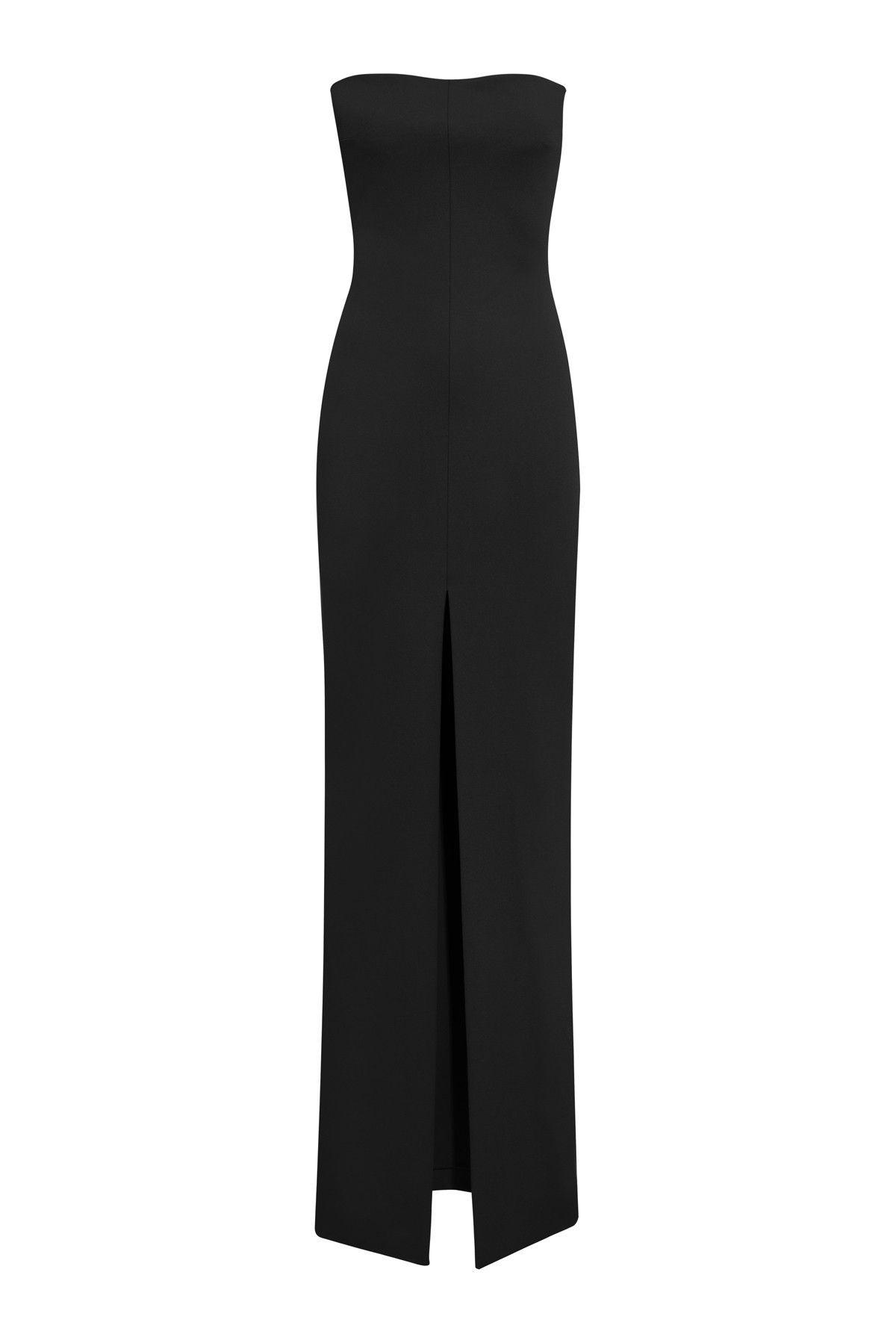 5f384ecd5277 Solace London Bysha Maxi Dress Black   Dress in 2019   Dresses ...
