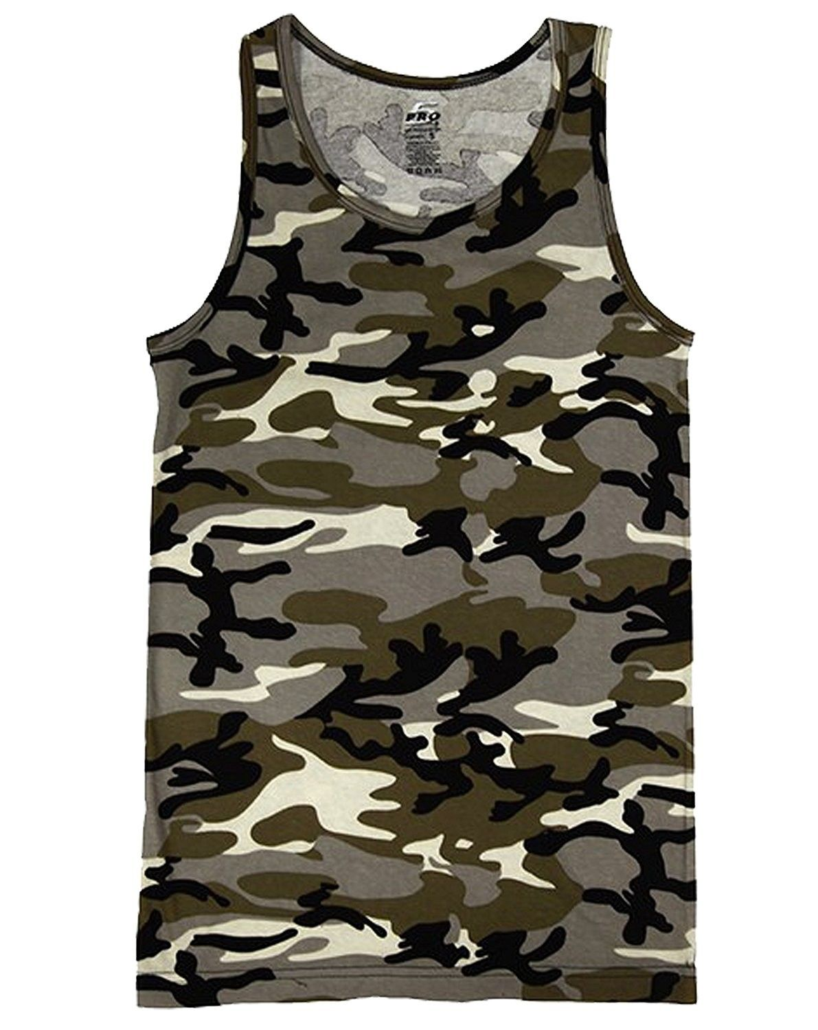 22d4227502e73 Men's Clothing, Shirts, Tank Tops, Mens Camo Muscle Tank Top Gym Work Out  Super Thick 3 Pack - Desert Camo - CQ12IRIP05N #fashion #Shirts #men  #outfits ...