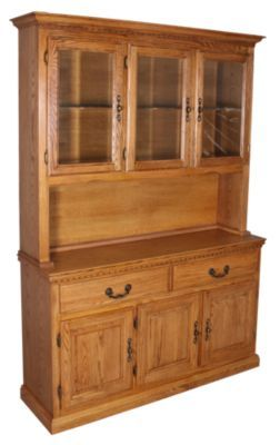 Homemakers Furniture Harvest Oak China Hutch Gs Dining Buffets Hutches