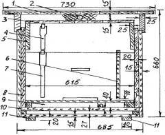 16-рамочный утепленный улей (белорусский) с чертежами и