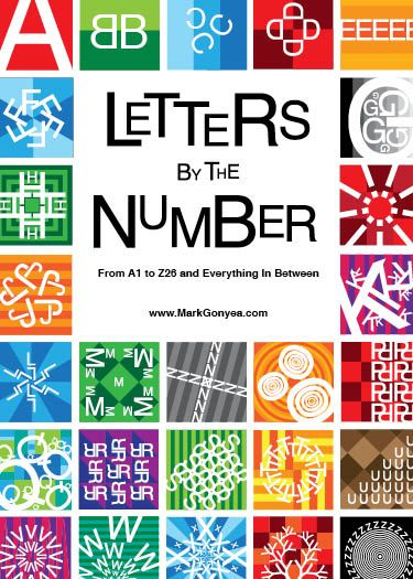 Counting on Letters: From A to Z and 1 to 26 | Graphic design, Letters,  Graphic