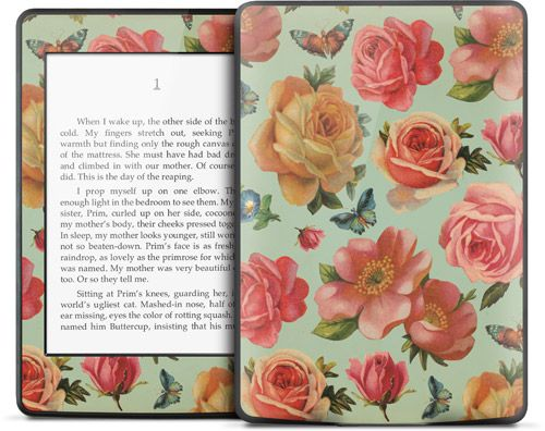 Rose by Julie Comstock for the Kindle Paperwhite   Kindle Skins