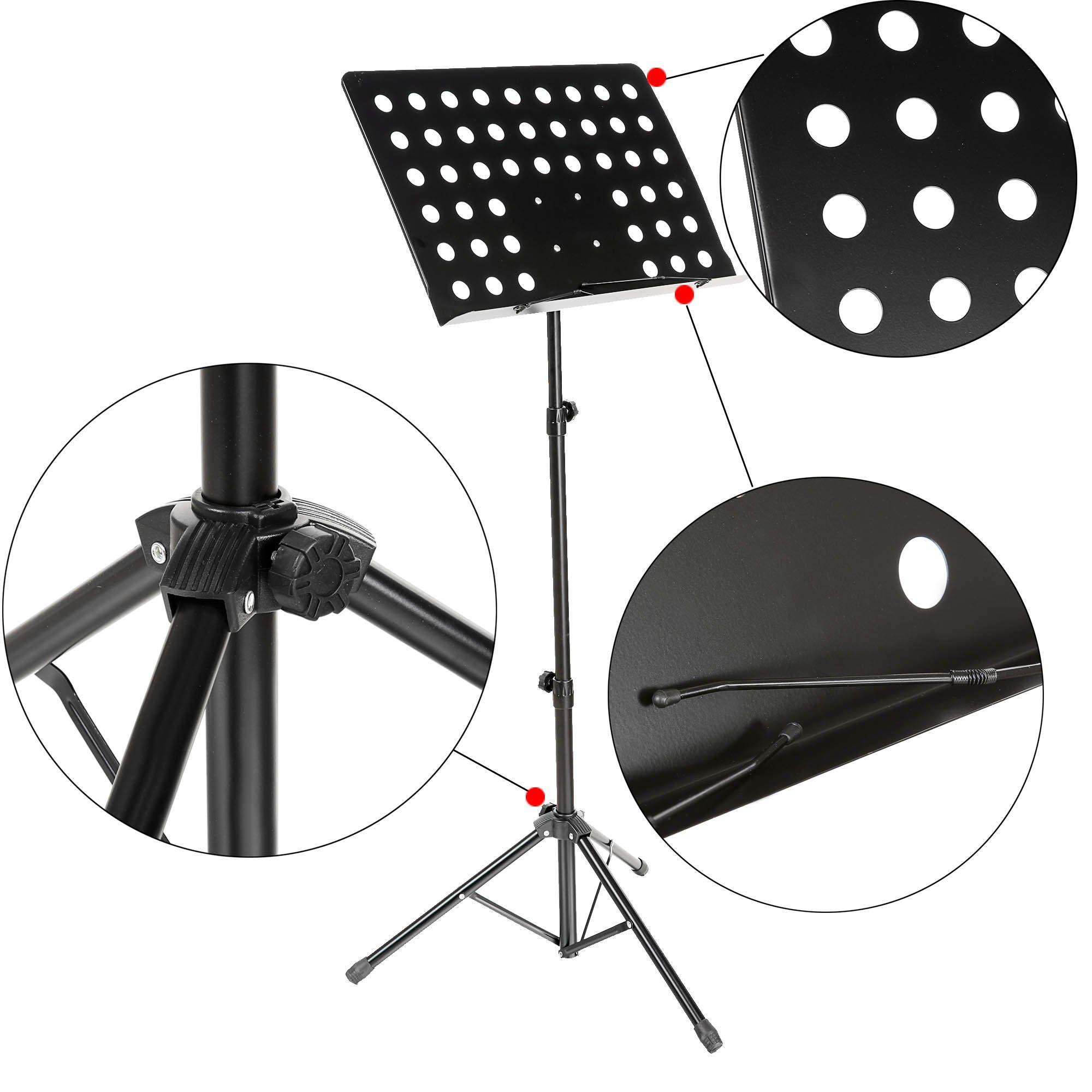 Coocheer Black Folding Music Conductor Stand Sheet/Book