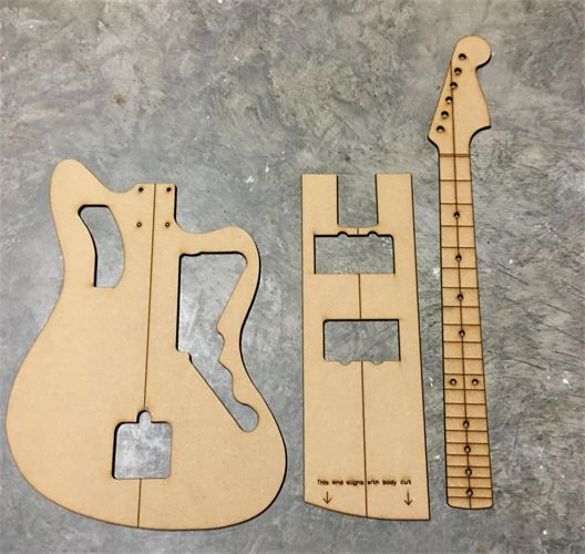 Purchase LuthierRoutingBuilding Templates Many Styles To Suit - Guitar routing templates