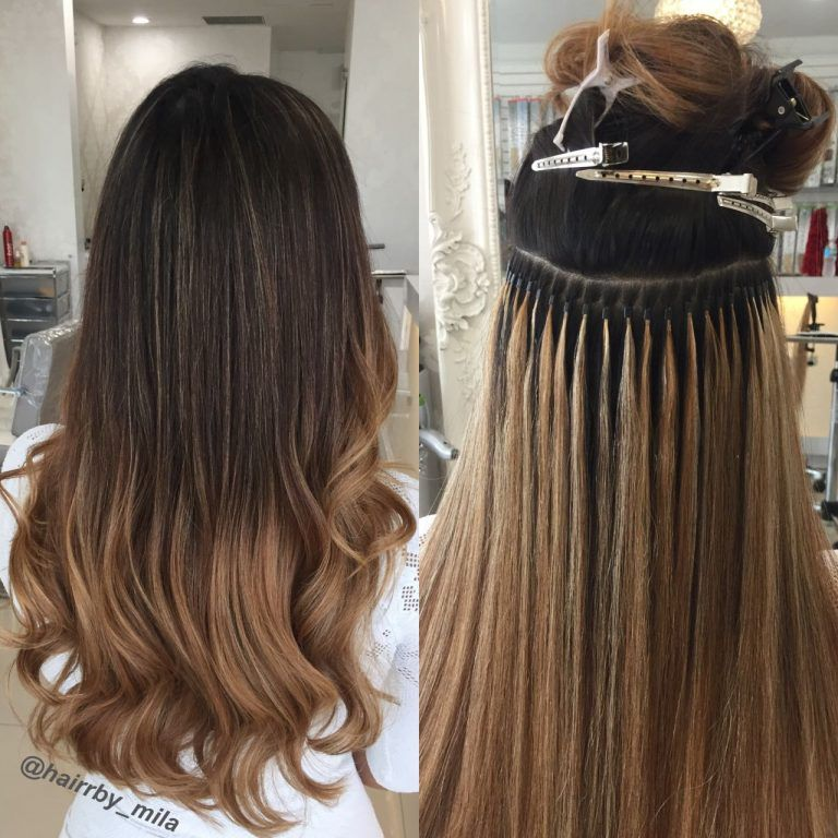 Hair Extensions Micro Beads application Hair extensions