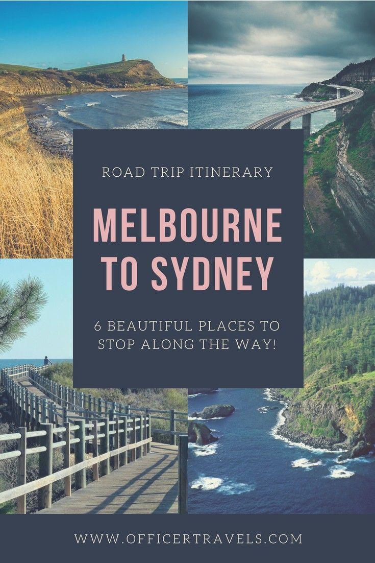 There's so many beautiful places to stop between Melbourne and Sydney it's hard to know where to choose! These are just 6 of our favourites. If you're taking a road trip to Sydney or Melbourne any time soon, you'll love these!   | #RoadTrip #VanLife #Melbourne #visitNSW #VictoriaTourism #RoadTripItinerary, Road trips from Melbourne, How to get from Melbourne to Sydney, Things to see between Melbourne and Sydney |