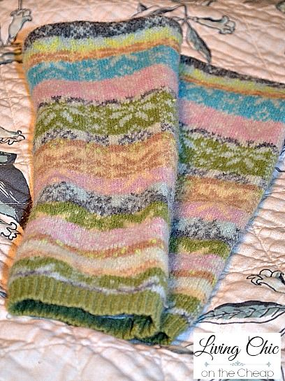 5e39f2c0832b It is super simple to Make Your Own Boot Socks From Thrift Store ...