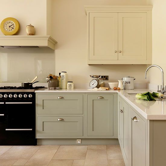 Shaker Style Kitchen With Hand Painted Cabinetry In 2020 Kitchen