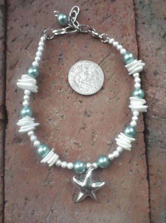 Sea Mist, ankle bracelet $20.00