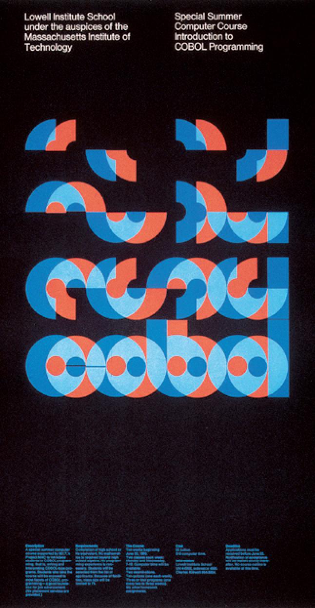 """Garadinervi: """" Dietmar Winkler, Poster For A Computer"""