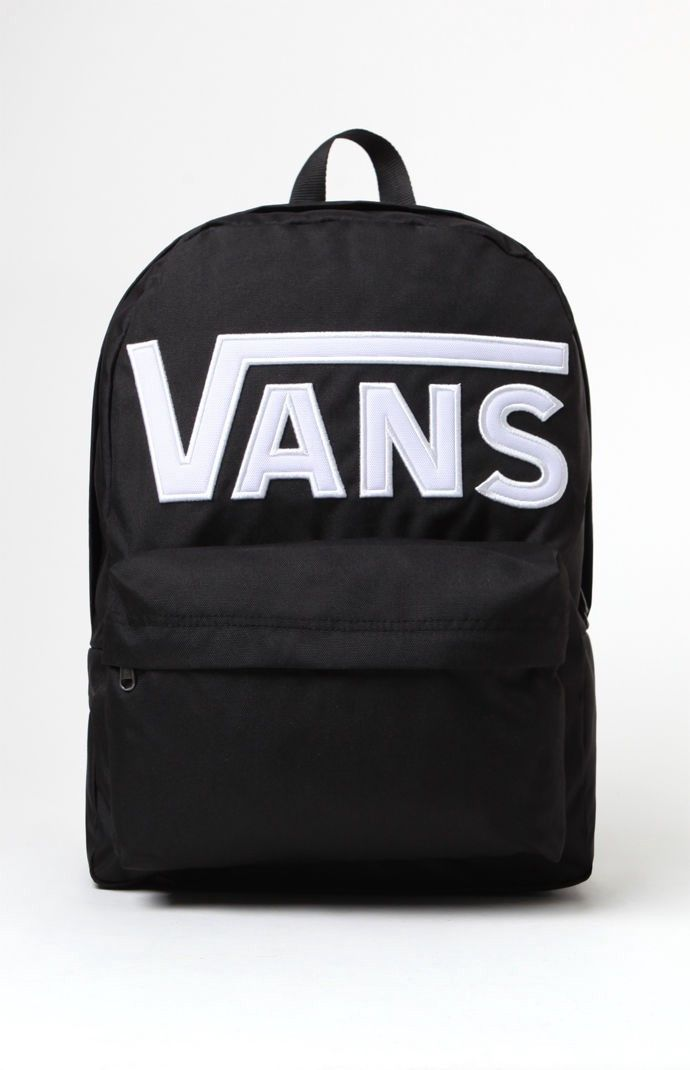 a34e286108 Vans Old Skool II Black & White Backpack - Black/White 1Sz ...