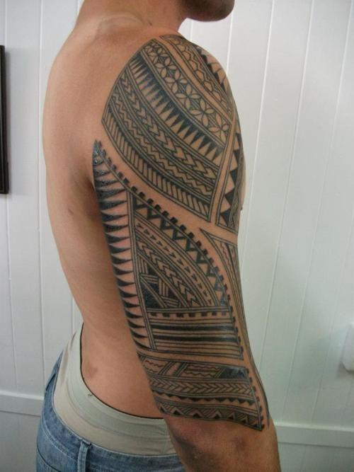 Samoan Pacific Half Sleeve Bytim Hunt Pacific Tattoo Paekakariki New Zealand Sleeve Tattoos Tattoos Samoan Tattoo