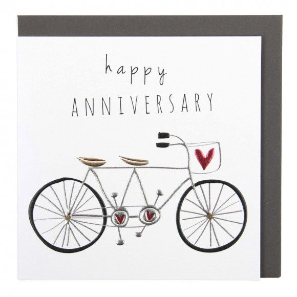 Anniversary Cards Number Of Years Cards Happy Anniversary Cards Greeting Card Companies Bike Card Anniversary Cards