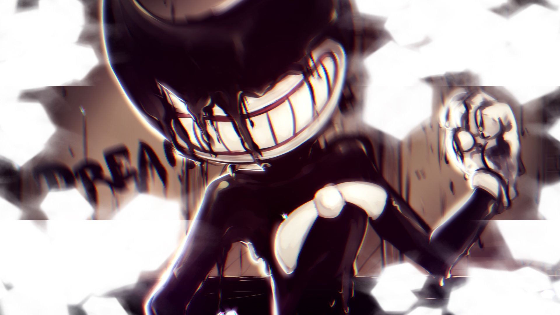 Listen And Download Download This Bendy The Ink Demon Wallpaper By Draw With Rydi For Free On Toneden Bendy And The Ink Machine Ink Fan Art