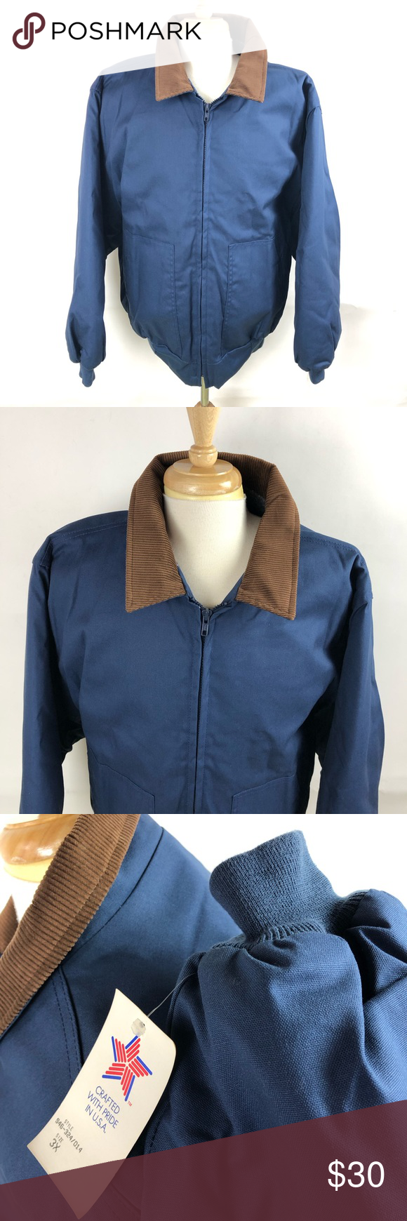 California Outerwear Mens Blue Lined Bomber Jacket Blue Man Outerwear Bomber Jacket [ 1740 x 580 Pixel ]