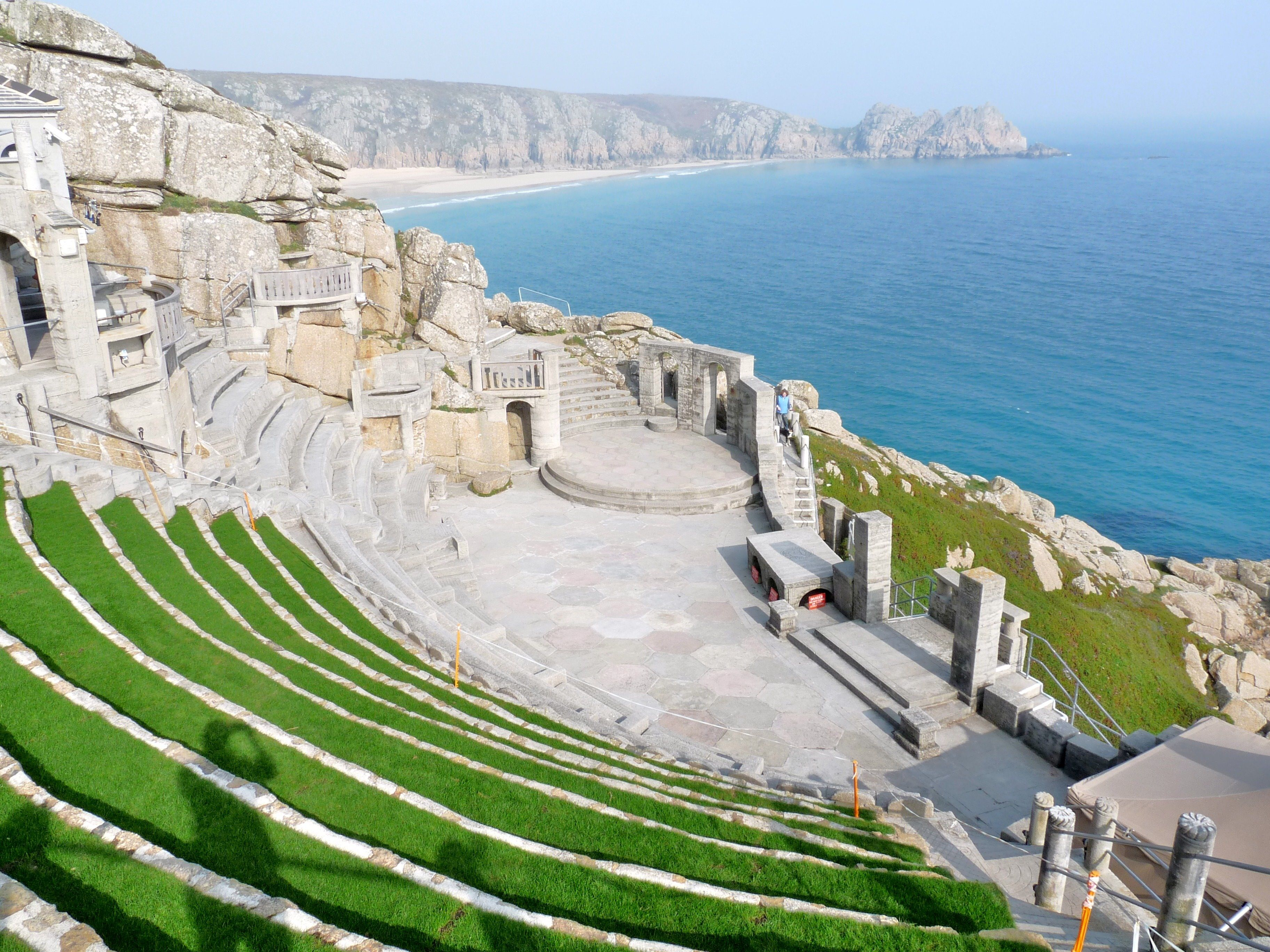 The World Famous Minack Outdoor Theatre in Porthcurno. It