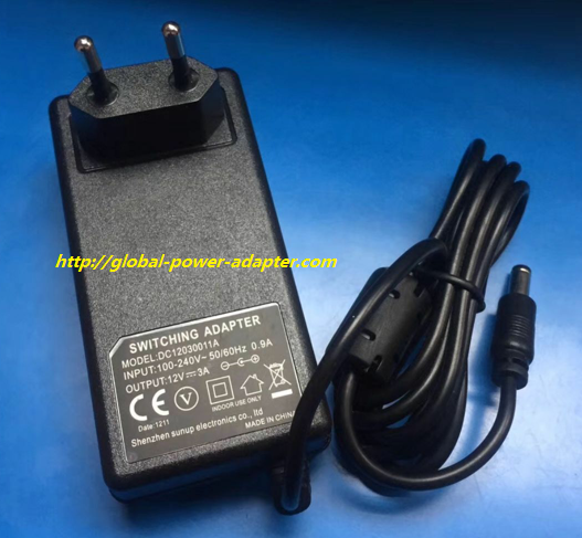 Brand New Dc12030011a Switching Powert Ac Dc Adapter Supply Laptop Accessories Acdc Adapter