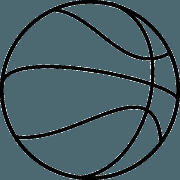 Pelota De Basket Para Colorear Dibujos De Balones Balones