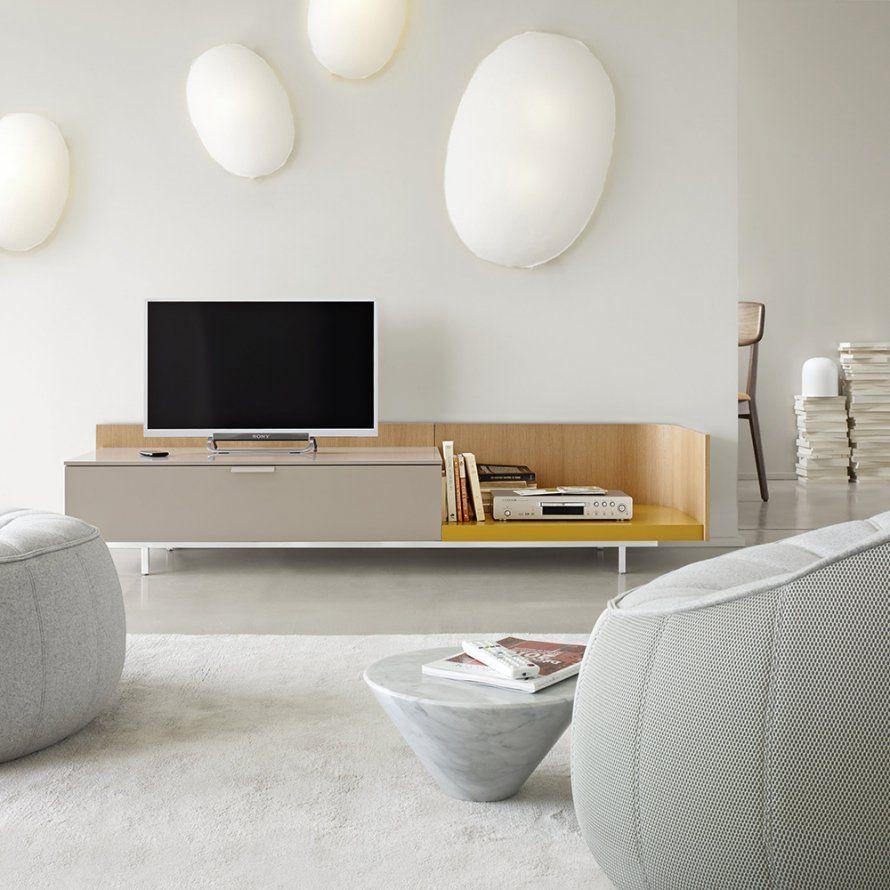 Un Meuble Hifi Design Cinna Marie Claire Maison Salons  # Meuble Hifi Tv Design