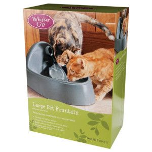 Whisker City® Pet Water Fountain and Accessories