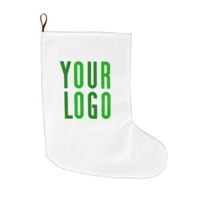 Promotional Your Company or Event Green Logo Large Christmas ...