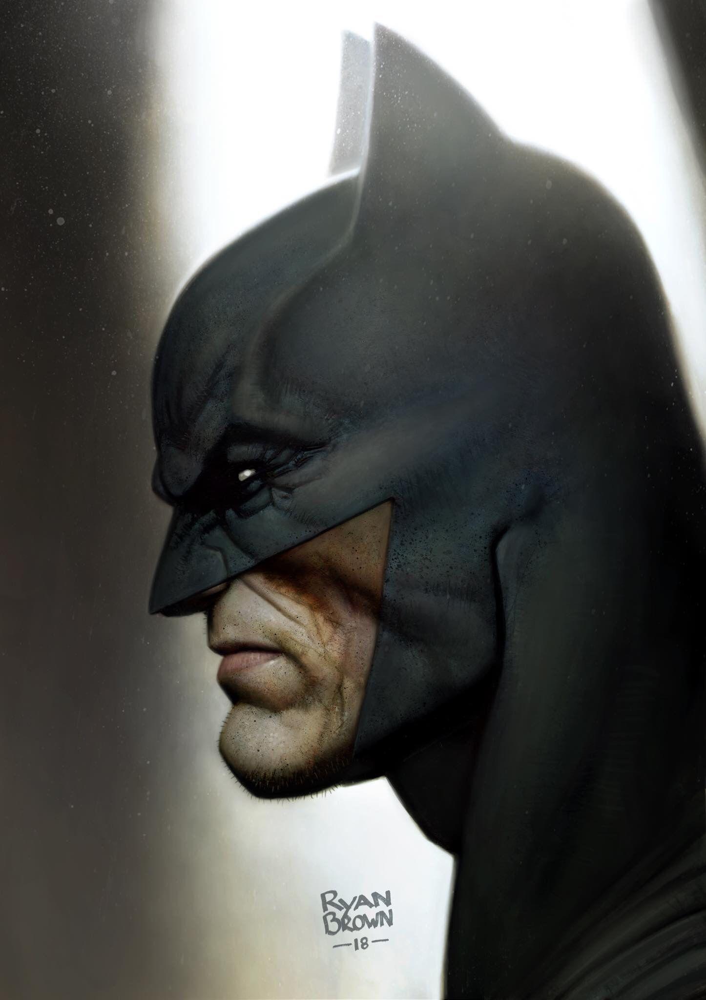 Dc Comics Comic Book Artwork Batman By Ryan Brown Follow Us For