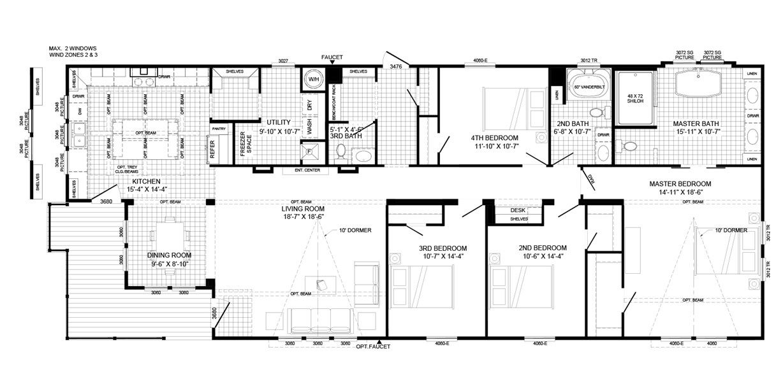 Interactive Floor Plan Mobile Home Floor Plans Modular Home Floor Plans House Floor Plans