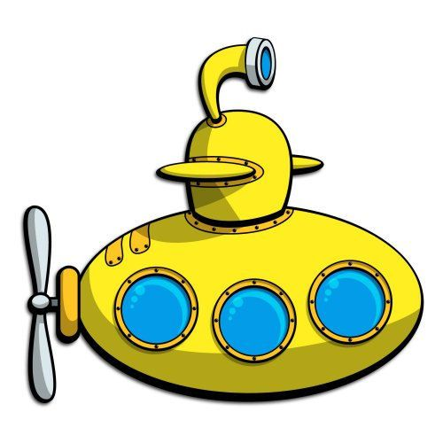Cartoon Submarine - ClipArt Best | Connor's 12th BDay ...