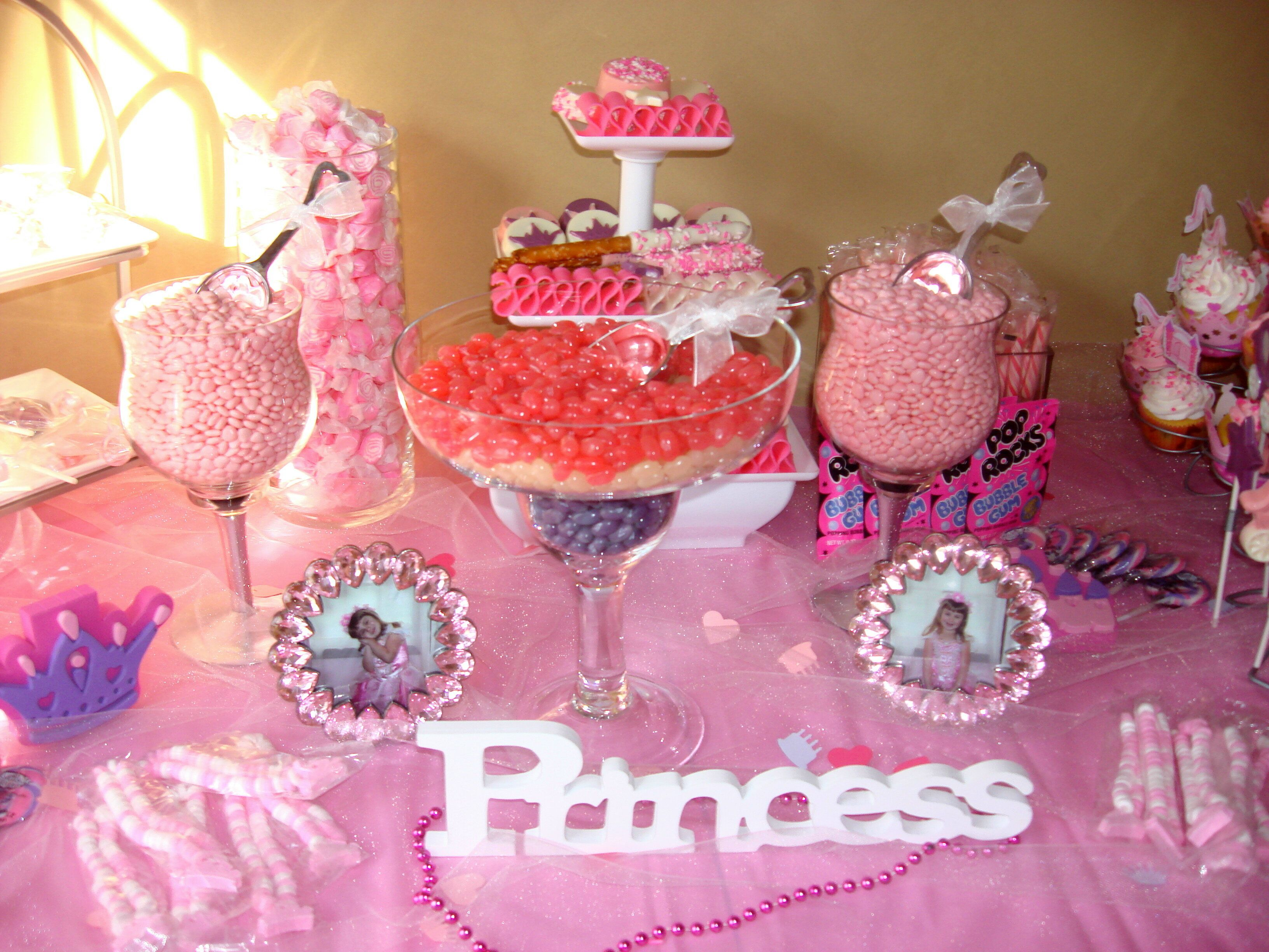 Princess Candy Table 40th Birthday Party Planning 40th Birthday Parties Birthday Party Planning