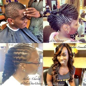 Hair Stylist Near Me black star unisex salon in cdirfoe - Hair Styles