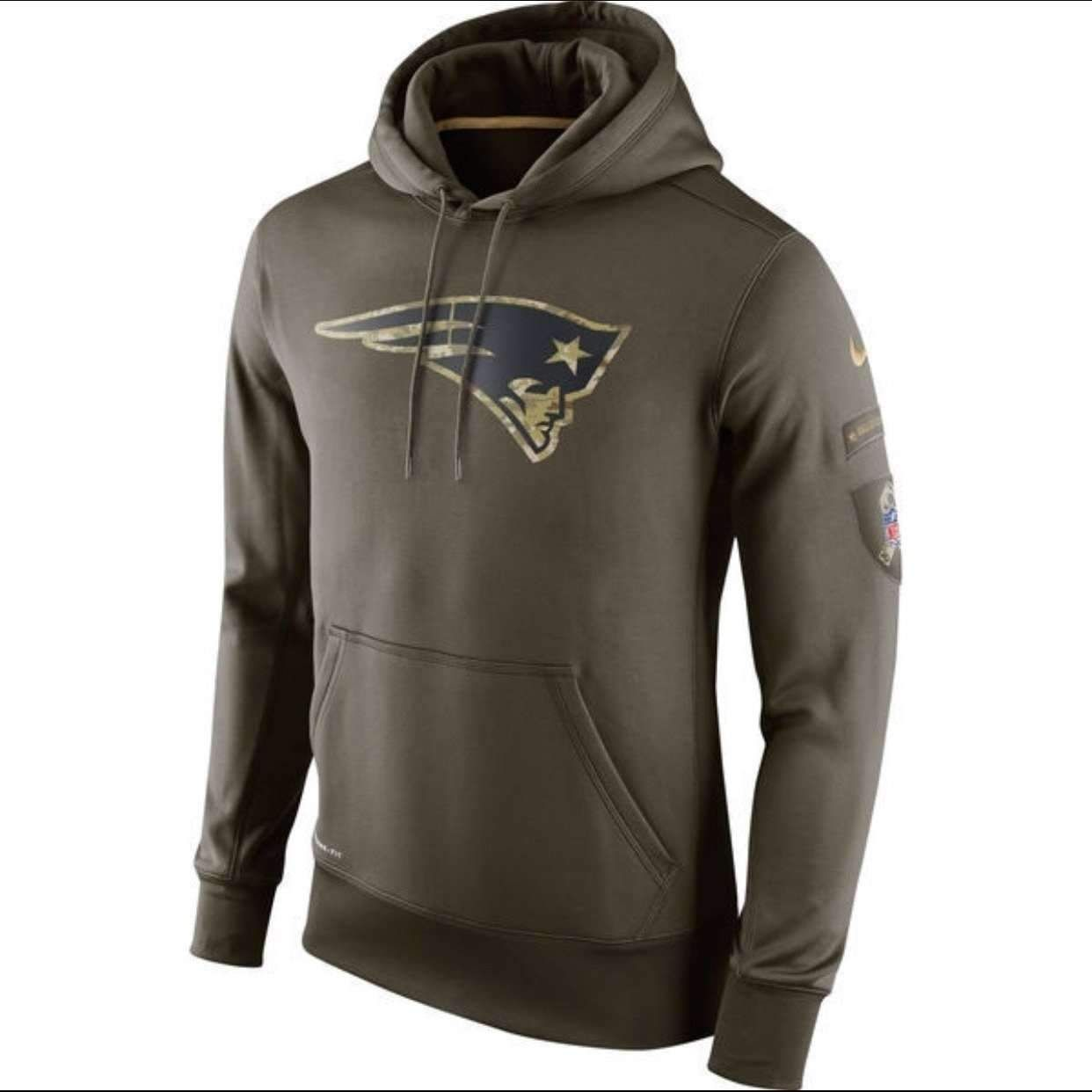 47524ab0b 2015 Salute To Service Sts Hoodie New England  Patriots Rare Sellingoutfast  M from  99.99