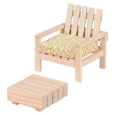 Dollhouse Furniture Patio Chair and Table Set - Our Generation™
