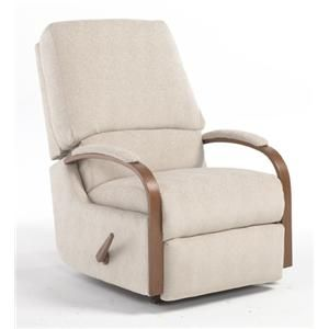 best home furnishings recliners - medium pike walhugger reclining