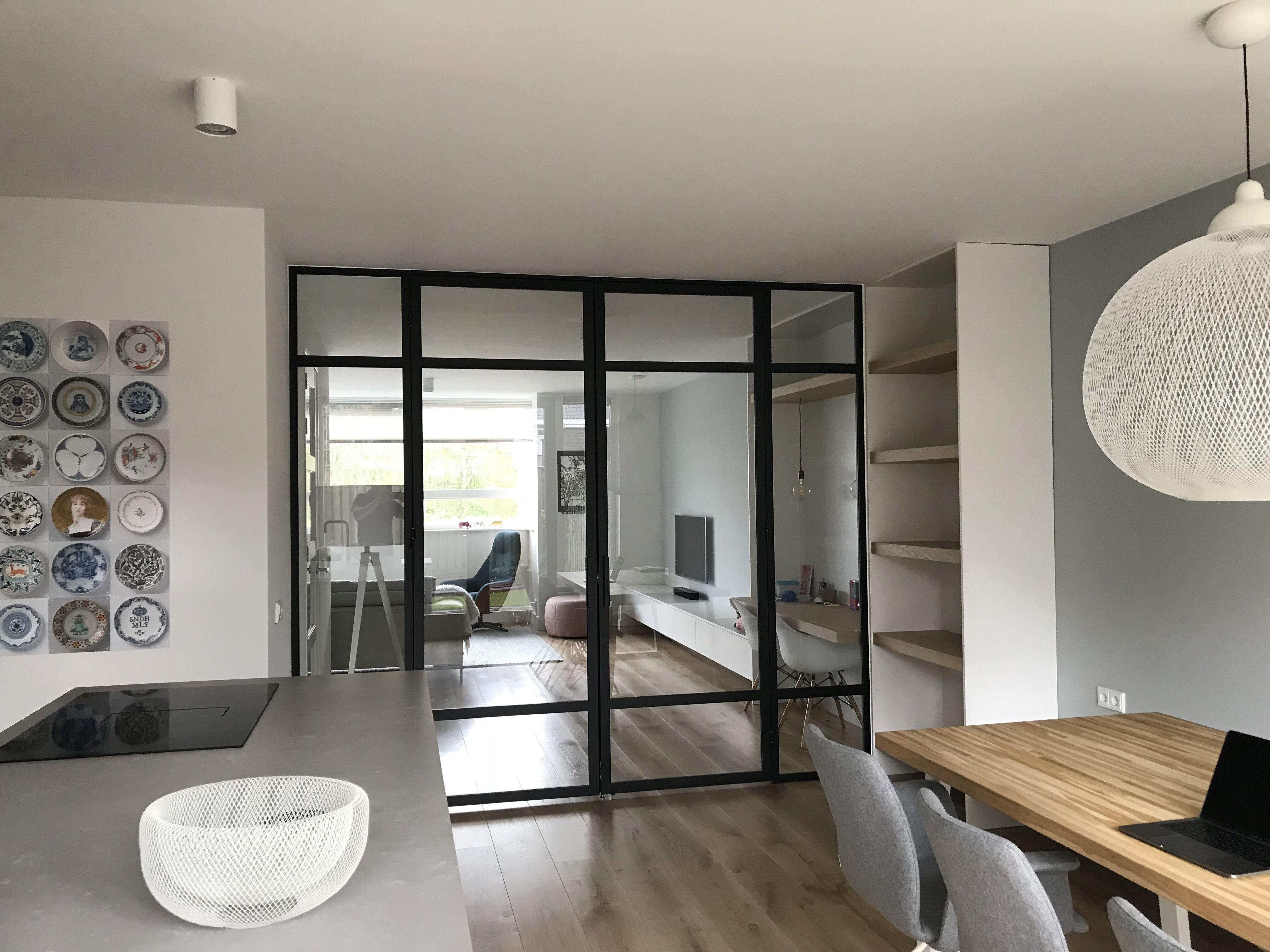 Dubbele Stalen Deur Met Zijpanelen Stalen Deuren Huis Interieur Ideeen Voor Een Kamer