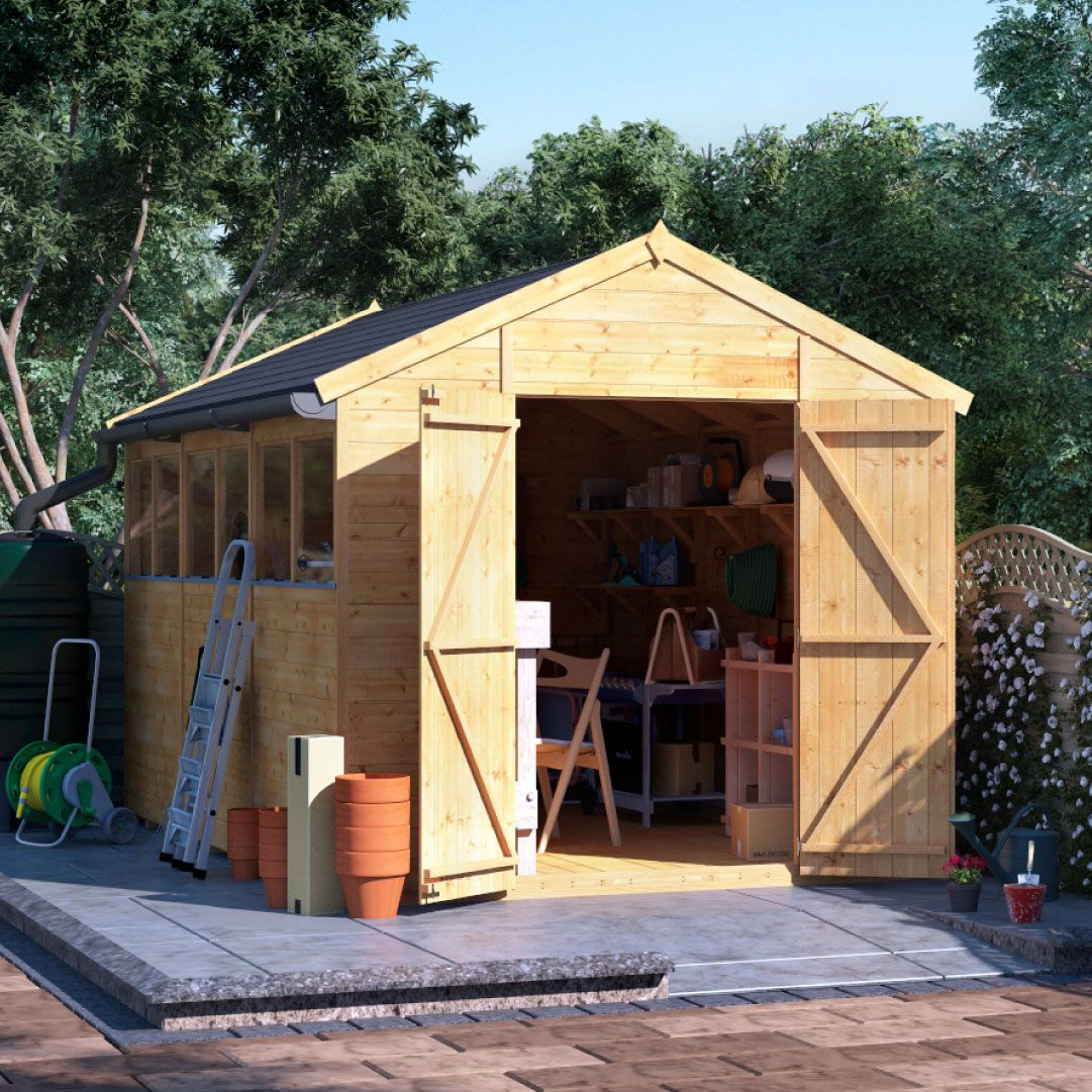 Billyoh Expert Tongue And Groove Apex Workshop Garden Sheds Garden Buildings Direct In 2020 Garden Buildings Direct Shed Apex Shed