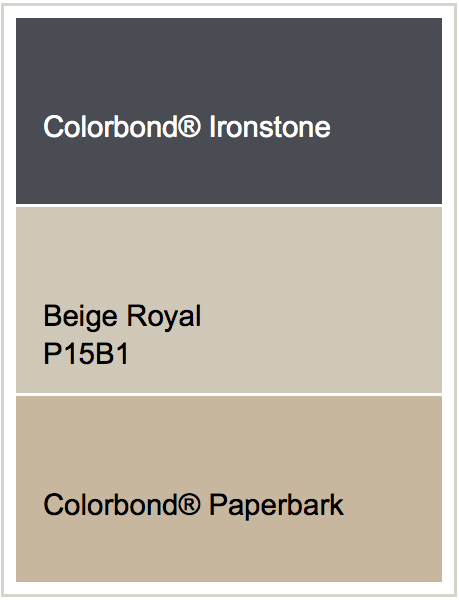 Exterior Paint To Match Ironstone Colorbond