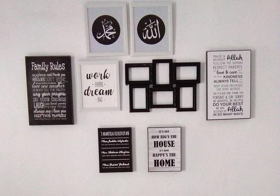 Stiker Dinding Ruang Makan
