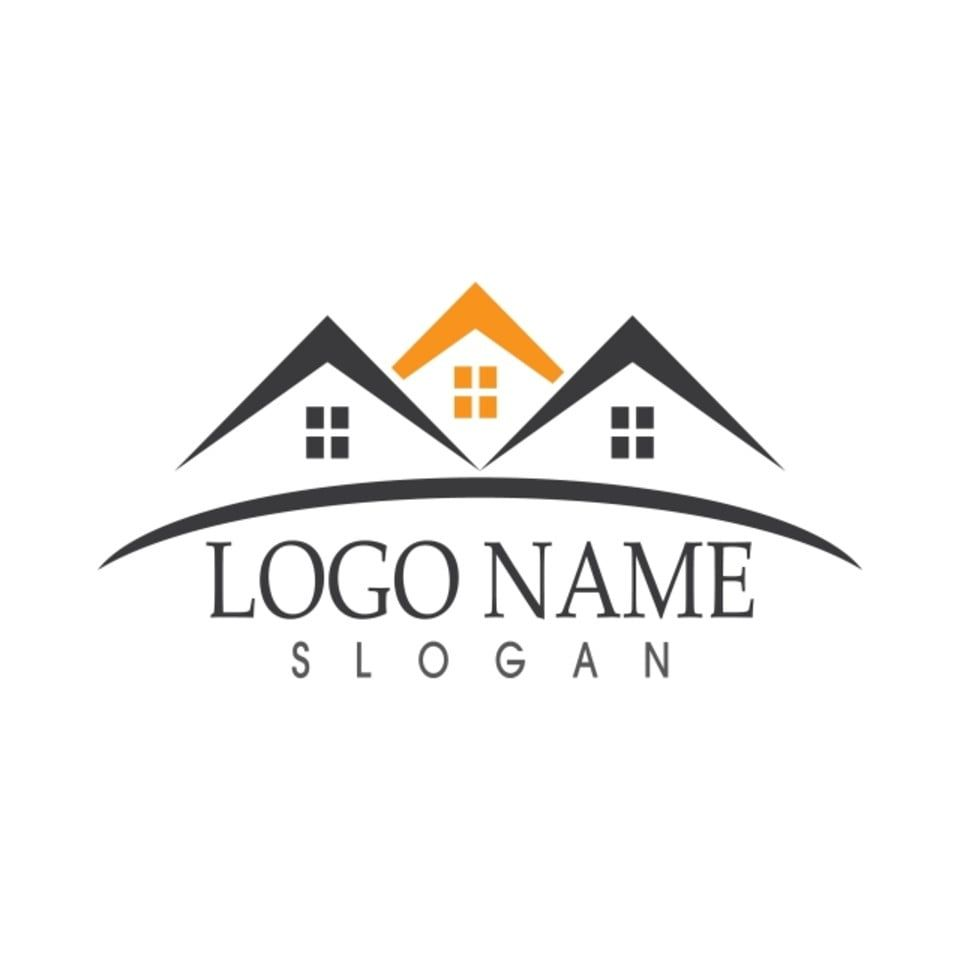 Real Estate And Building Home Logo Vector Home Icons Building Icons Logo Icons Png And Vector With Transparent Background For Free Download Home Logo Vector Logo Building Icon