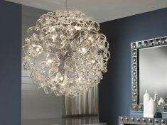 Lámparas de Techo : Colección NOVA transparente Grande