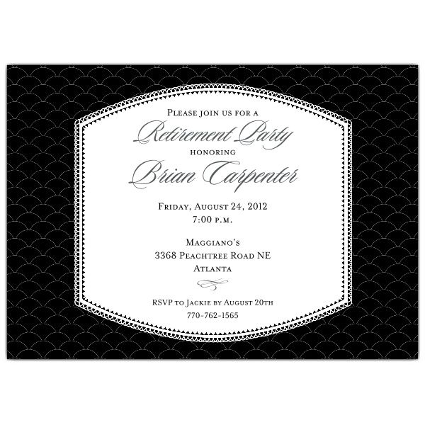 Retirement Dinner Party Ideas Part - 26: Badge Black Retirement Dinner Invitations. Retirement QuotesMilitary RetirementRetirement  IdeasRetirement PartiesRetirement ...