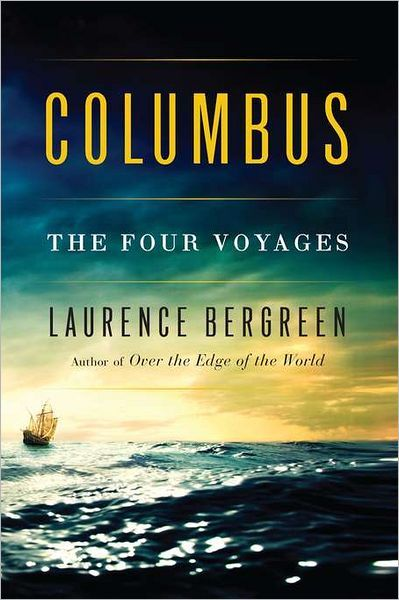 1492 viaje de Cristóbal Colón a través del Océano Atlántico en busca de una ruta comercial a China.