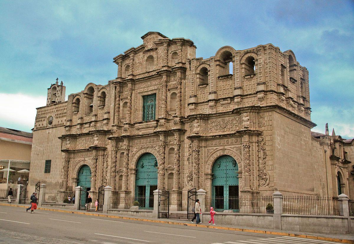 Cajamarca Wikipedia La Enciclopedia Libre Santa Catalina Peru Cathedral