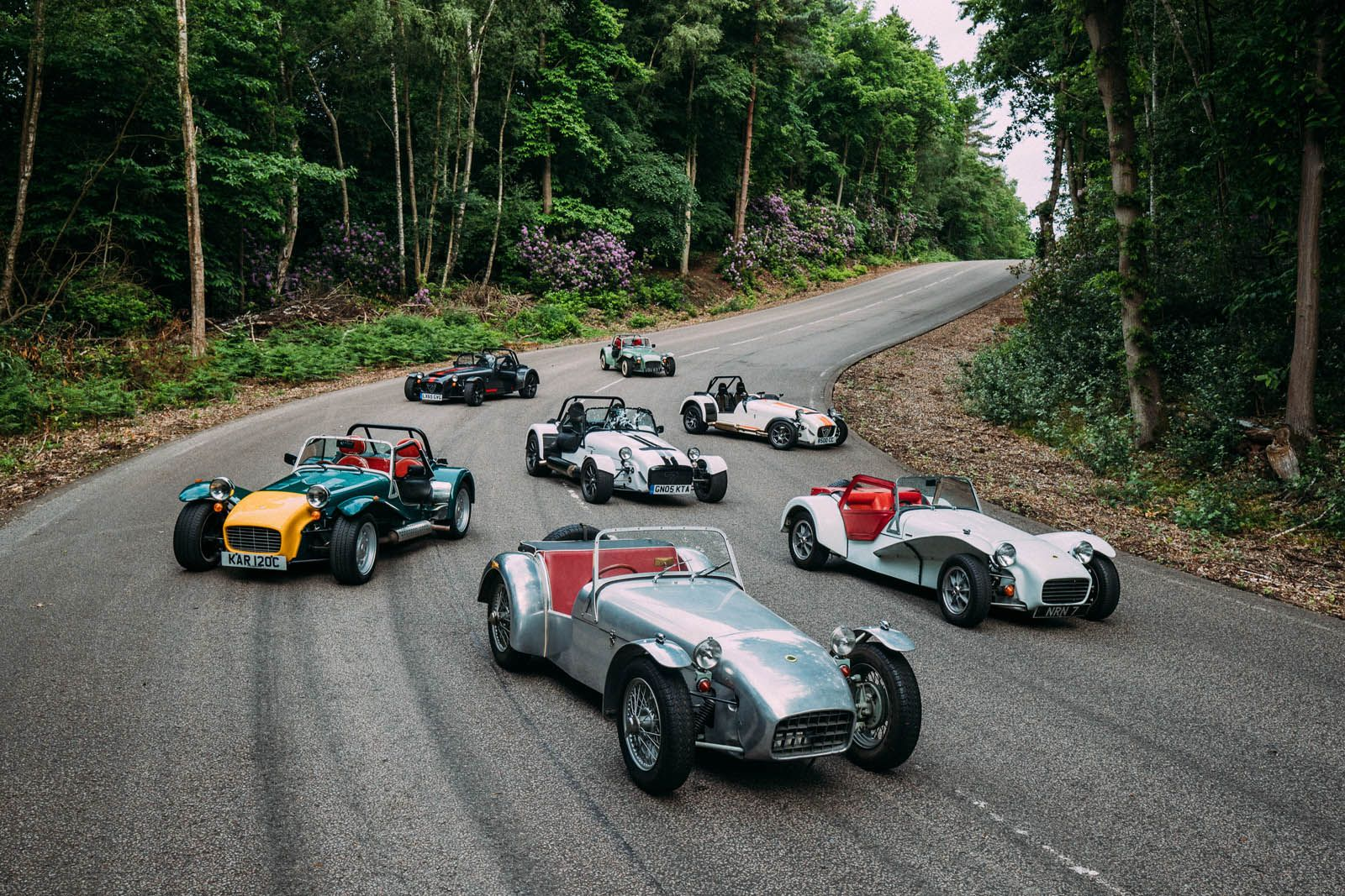 Caterhams Old And New Gather To Celebrate The Seven\'s 60th Birthday ...