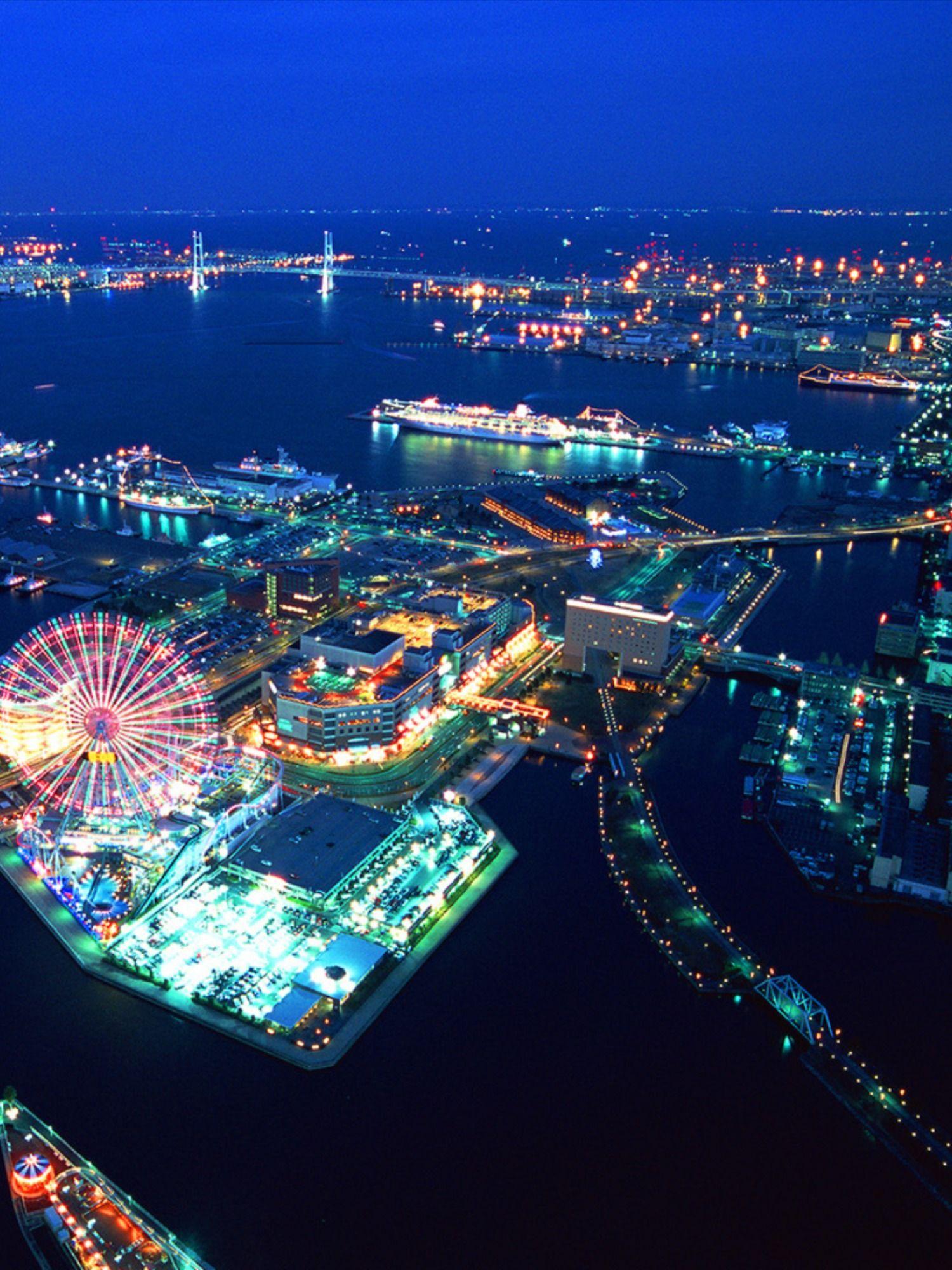 楽天トラベル 横浜ランドマークタワー たびノート ランドマークタワー 美しい風景 みなとみらい 夜景