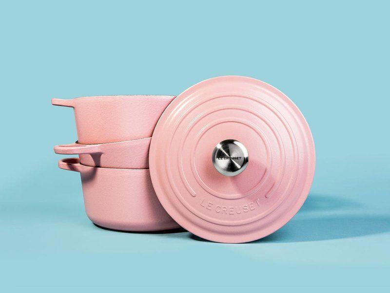 7 millennial pink kitchen gifts pink kitchen creuset