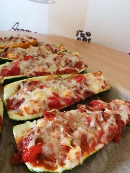 Gefüllte Zucchini mit Hackfleisch und Feta von Kathie22 | Chefkoch #steakfajitarecipe