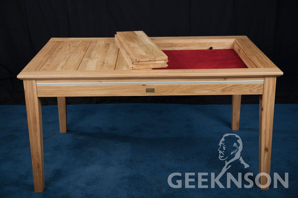 Megan gaming and dining table | Gaming table diy, Puzzle table