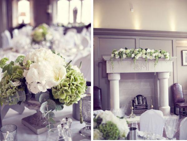 carolin chris englische landhochzeit mit hortensien wedding flowers hochzeit deko. Black Bedroom Furniture Sets. Home Design Ideas