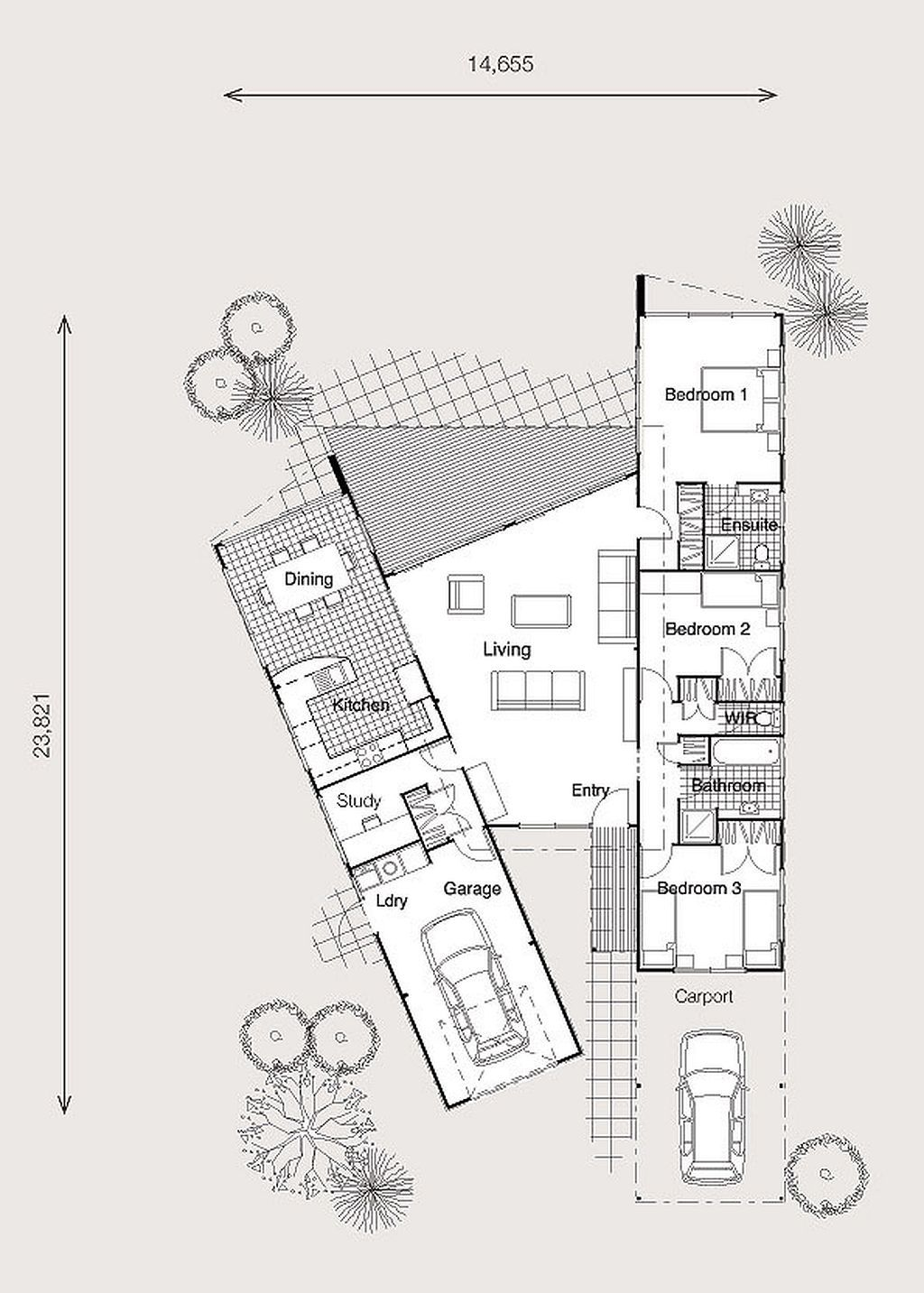 Interesting Layout Of Containers Would Obvi Change Floor Plan